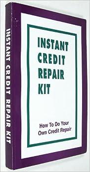 Credit repair kit for dummies book