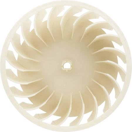 "10349492 Blower Fan Blade Wheel for Whirlpool Maytag Washer Dryer White 10"" x 10"" x 6"""