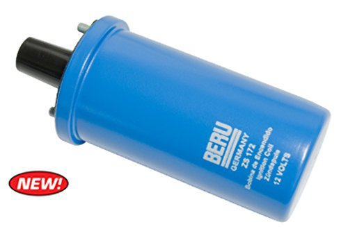 (Beru ZS 172 Blue Coil, 12 Volt Primary Resistance 3.5 Ohms VW BUG GHIA 1200-1600 )