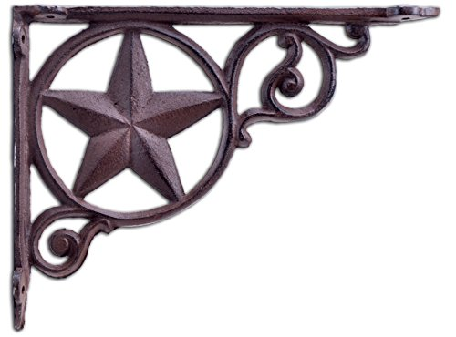 rustic cast iron star - 1