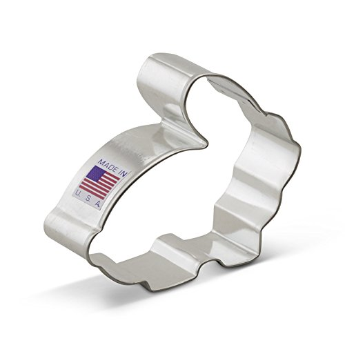 Ann Clark Easter Bunny / Rabbit Cookie Cutter - 3.3 Inches - Tin Plated Steel
