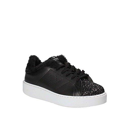 Plattform Schuhe Frauen Turnschuhe victoria Black 260121 mit Niedrige qgFXZwxt