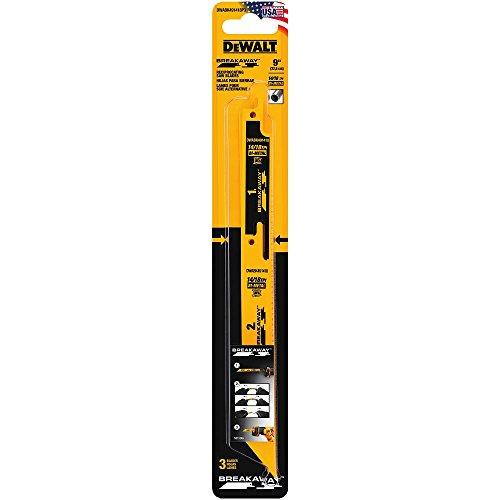 DEWALT DWABK491418P3 Reciprocating Saw Blade