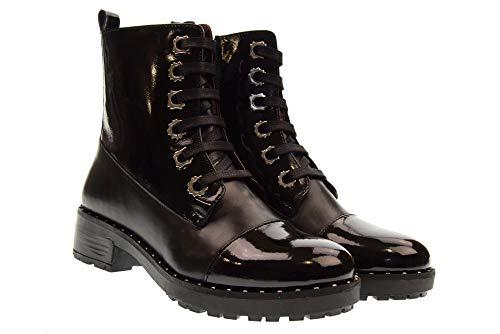 Zapatos de VRN APEPAZZA BST01 Beverly Negro Mujer Vitello anfibia q7xw4HfFwd