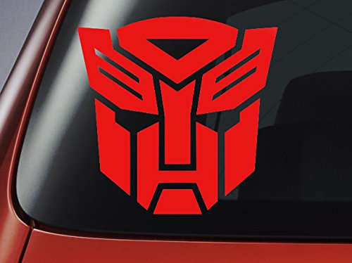 Transformers autobot logo car window car bodywork laptop wall decal sticker blue amazon co uk car motorbike