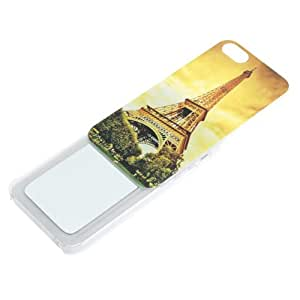 Eileen Eiffel Tower in Dusk Protective Shell Case Cover with Mirror for Iphone 5 5g