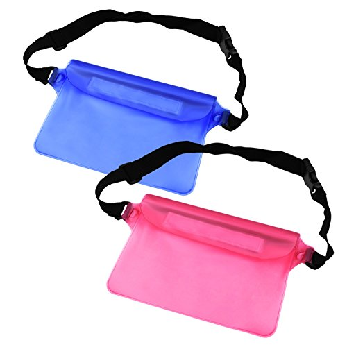 NKTM Waterproof Fanny Pack for Swimming Boating Beach