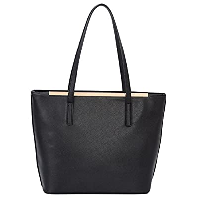 DAVIDJONES Women's Top Handle Shoulder Handbags Tote Purse