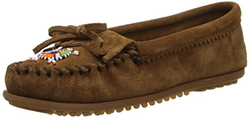Minnetonka Me To We Maasai Moc - Mocasines Marrón