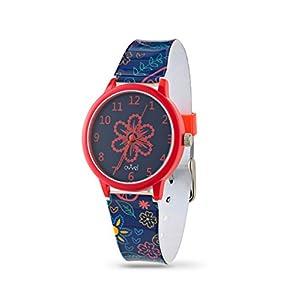 Ovvel Girls Watch – Pretty and Cute Kids Wrist with Teaching Analog Display Time Teacher - Japanese Quartz Movement – Bonus Gift Box