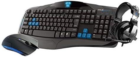 Pack Gamer para Gaming PC (teclado/ratón/casco) – E-Blue ...