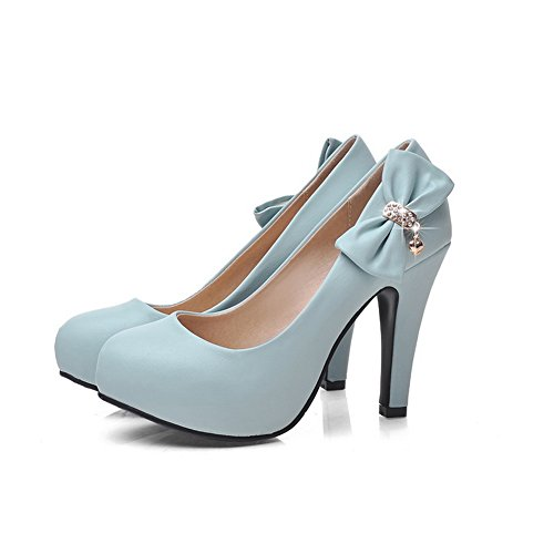 Urethane Urethane Womens AdeeSu Pumps Shoes Fashion Platform No Blue Bridal Closure SDC03668 wf0fxTWRqc
