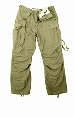 Amazon.com  ROTHCO VINTAGE M-65 FIELD PANTS - OLIVE DRAB - XL ... 7f4df9b2c8d