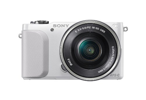 Sony NEX-3NL/W Mirrorless Digital Camera Kit (White)