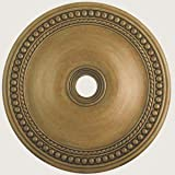 Livex Lighting 82077-48 Wingate Ceiling Medallion, Hand Painted Antique Gold Leaf