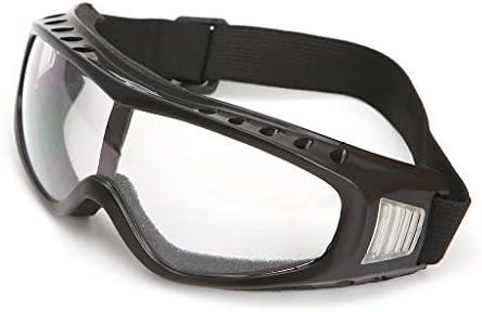 Dabixx 安全ゴーグル, ユニバーサル屋外安全メガネゴーグルレンズマウンテンクライミングスキー用アイウェア - トランスペアレント
