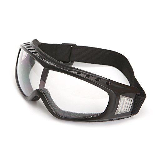 nobrand Universal Clear Safety Glasses Goggles Eyewear for Mountain Climbing Skiing, UV Protection