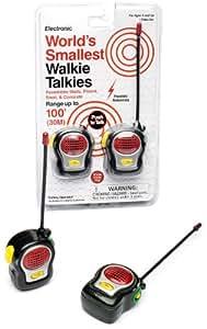 WorldS Smallest Walkie Talkie - Walkie Talkies (Funtime Gifts EG7950)