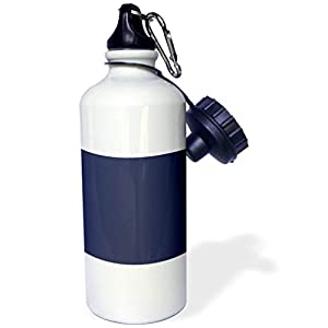 3dRose Spring and Summer 2018 Colors - Image of Patriot Blue A Dark Blue For Summer - 21 oz Sports Water Bottle (wb_280013_1)