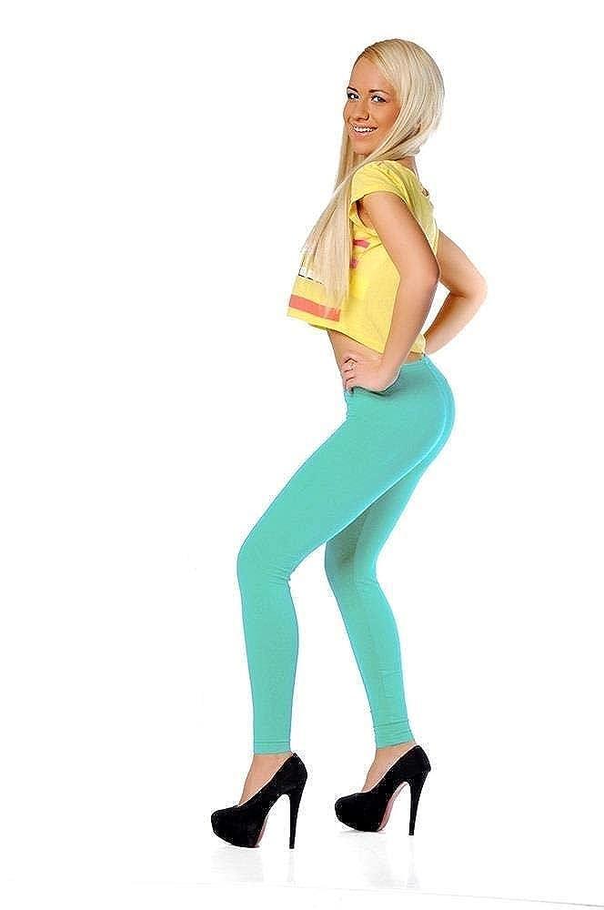 AE Leggings in 17 Farben Baumwolle Gr S M L XL XXL 3XL