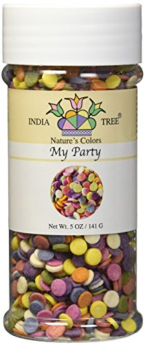 India Pastries (India Tree Nature's Colors My Party Decoratifs Jar, 5.0 Ounce)
