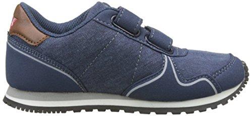 Levi's Stanford Velcro, Zapatillas Niños Azul (Navy)