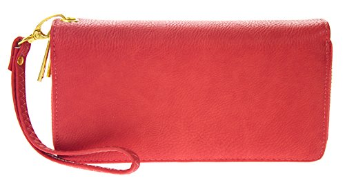PROYA Womens Leather Wristlet Organizer product image