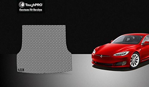 ToughPRO Cargo/Trunk Mat Compatible with Tesla Model S - All...