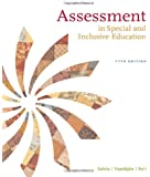 Assessment: In Special and Inclusive Education