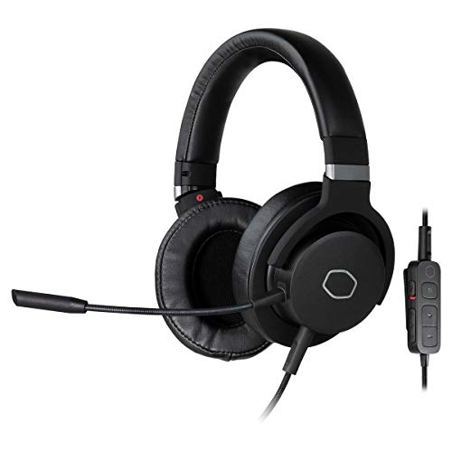 Price comparison product image Cooler Master MH752 Gaming Headset with Virtual 7.1 Surround Sound,  Plush Earcups,  and Omni-Directional Boom Mic