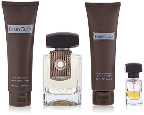 Perry Ellis Men 4 Piece Gift Set