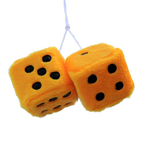 Potato001 Car Hanging Furry Dice -