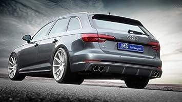 JMS Race Look Trasero difusor para Audi A4 B9 con Forma de S Line Exterieur