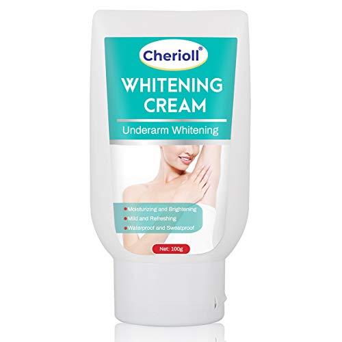 Underarm Whitening Cream, Lightening Cream, Underarm Lightening and Brightening Deodorant Cream Effective for Armpit, Bikini, Elbow, Knees, Private and Sensitive Areas