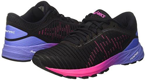 Persian Scarpe Hot black Pink 2 Nero Asics Dynaflyte Jewel Donna Running UZffFq
