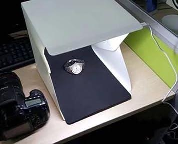 Honscreat lightbox pieghevole luce stanza per gioielli e oggetti