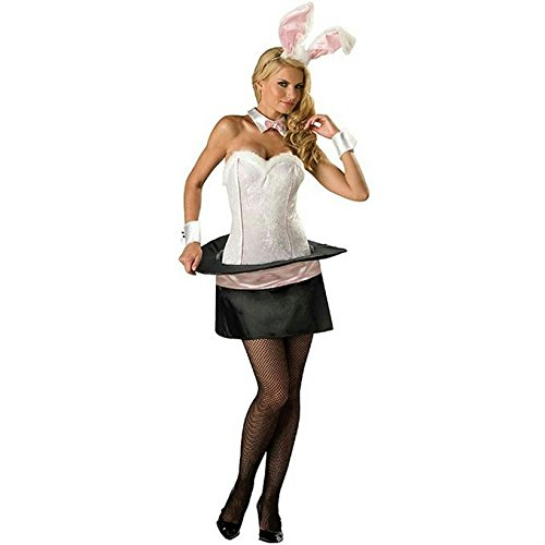 Magician's Assistant Costume (Magic Bunny Adult Costume - X-Small)