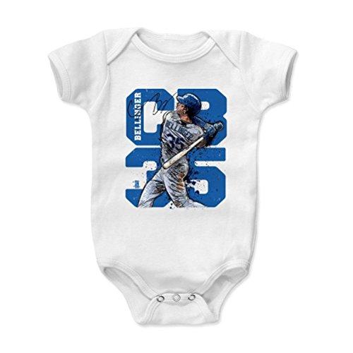 500 Level Cody Bellinger Baby Onesie 3 6 Months White   Los Angeles Dodgers Infant Bodysuit   Cody Bellinger Cb35 B