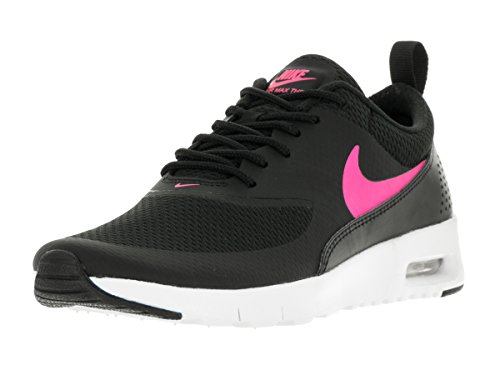 Max Youths Nike Trainers Thea Air Black Synthetic wfUqE8U