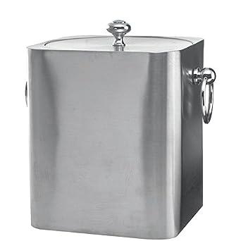Amazon.com: Servicio Ideas ibsq3bs cubeta de hielo, acero ...
