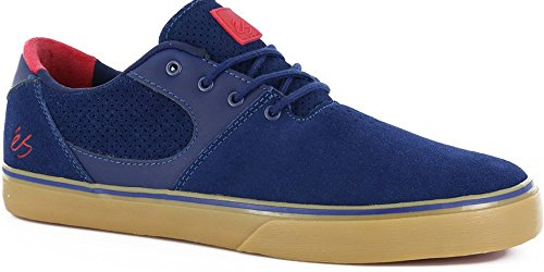 ES Skateboard Shoes ACCEL SQ NAVY/RED Size 13