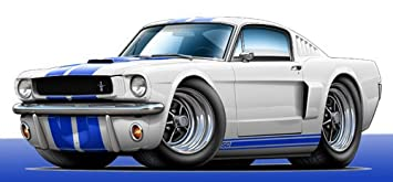 Ford Mustang Shelby Cobra 3D Art Wall Decal Graphic Man Cave Decor Garage Poster