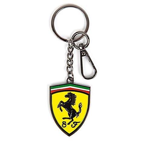 FERRARI - Llavero con Escudo de Metal y Logotipo de Scuderia ...