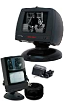 First Alert 5876 6-Inch Black/White Monitor with Motion Activated Camera