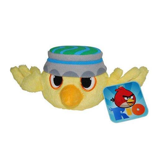 Nico Commonwealth Toys Angry Birds 5 Basic Plush Rio Birds