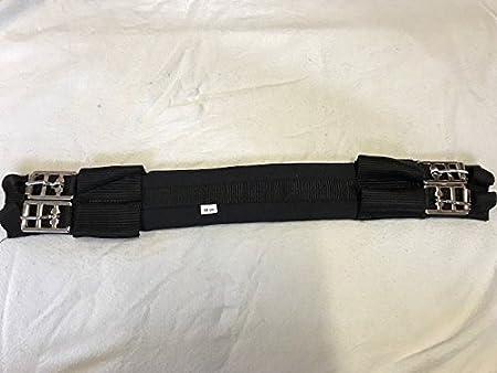 Kurzgurt Sattelgurt Soft-Giterschaum empfindliche Pferde 65cm schwarz