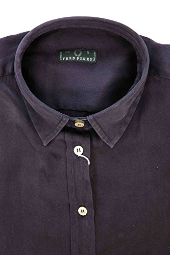 31202423 Blu Fred Donna Perry Lunghe Camicia Maniche B7qw5q1Y
