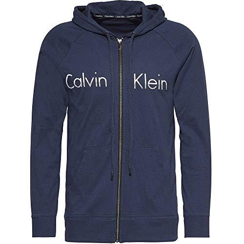 Con Cappuccio Ombra Cerniera Blu Logo Shadow Blue Lounge E Klein Calvin T6c4wtqI