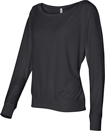 Traje de neopreno para mujer Bella 3,7 G. Long-con cierre de solapa y nivel de interrogatorio para el hombro T-camiseta de manga corta Off negro