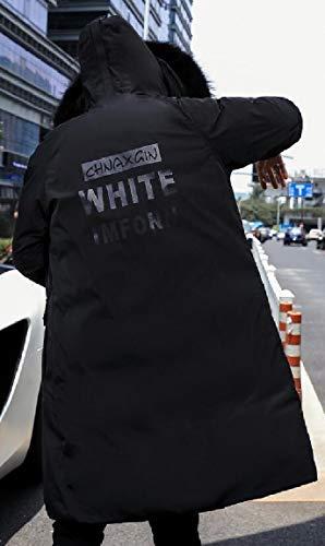 Outer Jacket Black Winter Sleeve Parka Long Mens Coat security Puffer Long Duck Down w64WxqgIAP